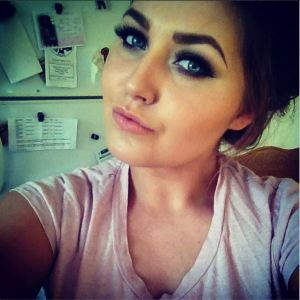 blog pic, girly smokey eye